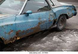 Badly rusted car or bakkie wanted