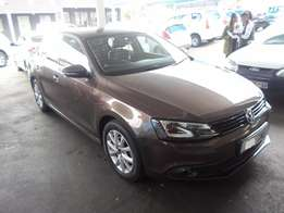 2014 Automatic Brown VW Jetta-6 1,4 TSi