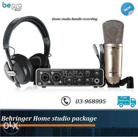 Behringer Home studio PRO PACKAGE , Recording Package
