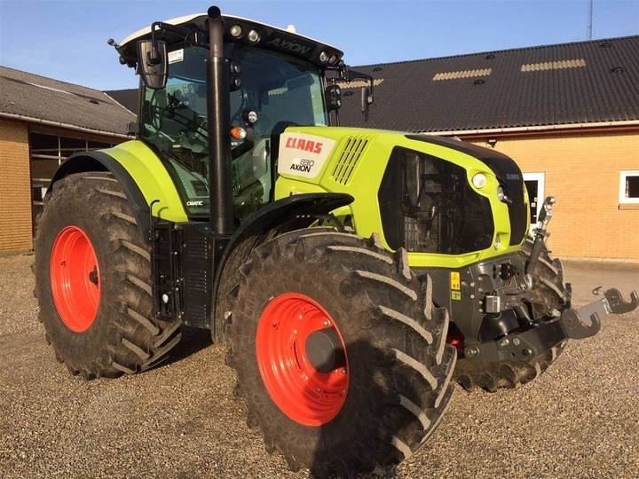 Claas Axion 830 Cmatic Demo - Traktor - 2018