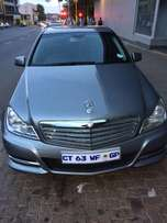 2013 C200 Mercedes Benz Automatic Still In Good Condition For Sale