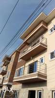 Newly built executive 3 bedroom flat with a bq for sale at ikeja