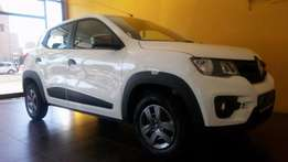 2017 Demo Renault Kwid Dynamique White 10500kms