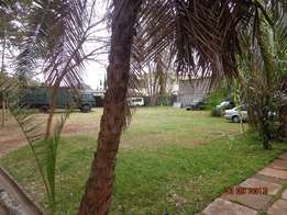 Prime 0.77 Acre Second row of James Gichuru rd on sewer with 5br house