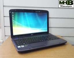 Acer Aspire dual core laptop.320gb hdd, 2.2ghz, 2gb ram, AFFORDABLE