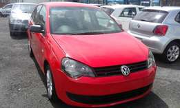 VW Polo Vivo 1.4 Colour Red Model 2014 5 Doos Factory A/C & CD Player