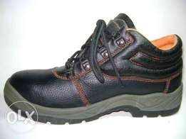 Safety boots used in various places in industry. They are the best typ