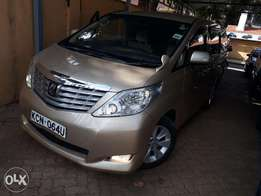 Quick Sale Toyota Alphard 2010 Gold 3500cc