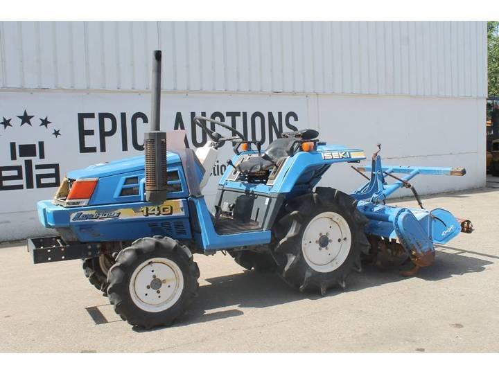 Iseki Landhope 140 Mini Tractor Met Frees