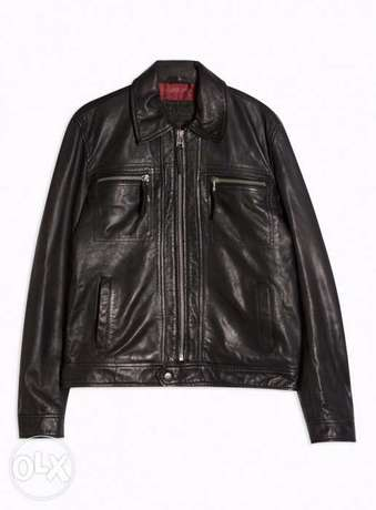 New high quality leather jacket
