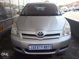 2006 Toyota Verso 1.6 sunroof 99,799 km Manual Gear leather