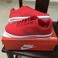 Red Nike Cortez Sneakers