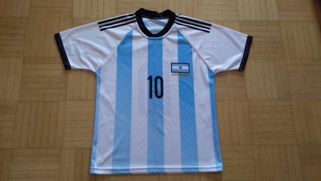 c1ce3051c Sportowa koszulka Argentyna Messi rozm. 140 Warszawa Wesoła • OLX.pl