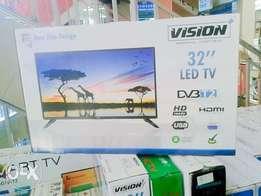 Vision 32 inch digital TV with over 100 channels free to air