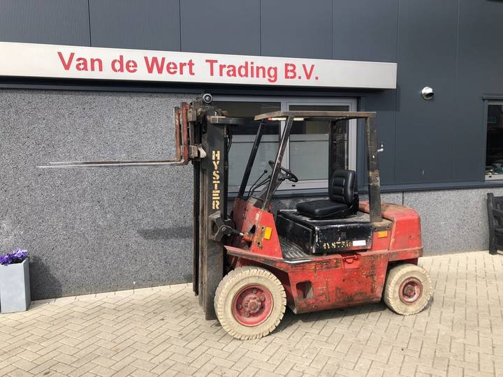 heftruck HYSTER H2.00XL triplo 425 freelift sideshift I... - 1991 - image 2