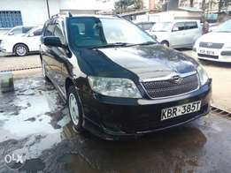 Toyota Fielder clean fully loaded well kept 40th anniversary grade