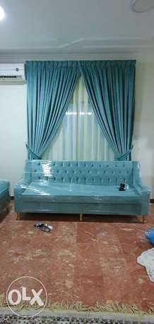 Sofa upholstery, Curtains and Carpet maintenance and supply
