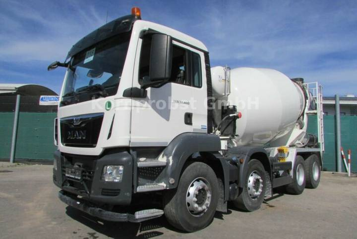 MAN TGS 32.400 8x4 - INTERMIX 9 m³ - DECKEL - Nr:018 - 2017