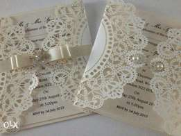 Executive Wedding Invitation Cards, Love Cards, Graduation Cards.