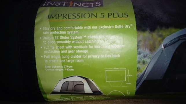 Instincts 5 Person Tent River Crescent - image 2