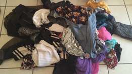 2nd hand big bag of clothes & shoes to sell female clothing