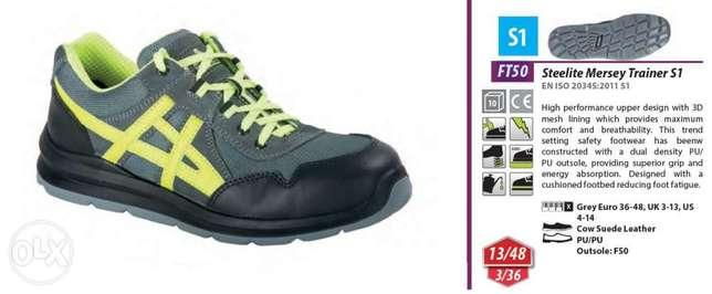 Steelite Mersey Trainer S1 Safety Shoes