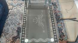 Persian Glass Coffee Table