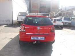vw polo 1.6 hb 2006 model red colour