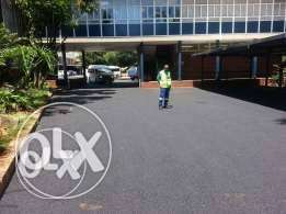 excellent tar surface & paving