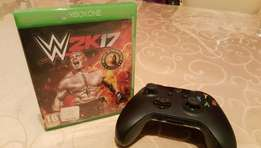 Xbox One Controller -3.5mm Jack + WWE2K17