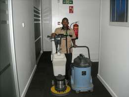 Provision of cleaning services, very affordable