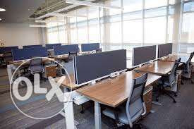Office space in private company only 90BD