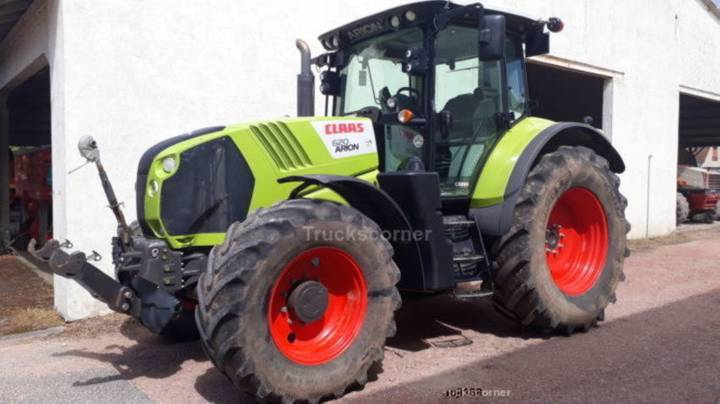 Claas arion 620 cebis - 2014