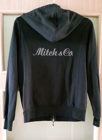 OKAZJA Czarna damska bluza z kapturem rozmiar L Mitch&Co