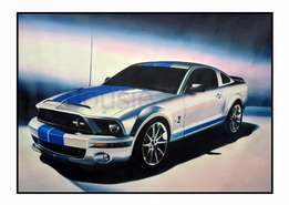 A4 Limited Edition Prints, Muscle Cars