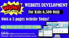 Website and E-commerce Development- GREAT DEAL