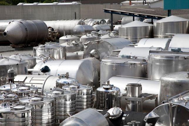 Ogromnie Zbiorniki ze stali nierdzewnej używane Poznań Jeżyce • OLX.pl DM12