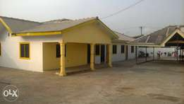 sweet new chamber and hall for rent in spintex.