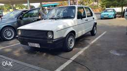 VW Golf 1800 5spd in daily use