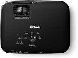 Epson EH-TW480 Projector and Wooden Framed Projection Board R 10,000 N