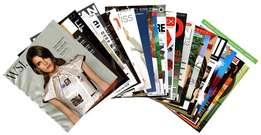 Magazine printing Full color A4 size 35(both side printed)