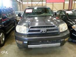 Very clean Reg 2004 Toyota 4Runner
