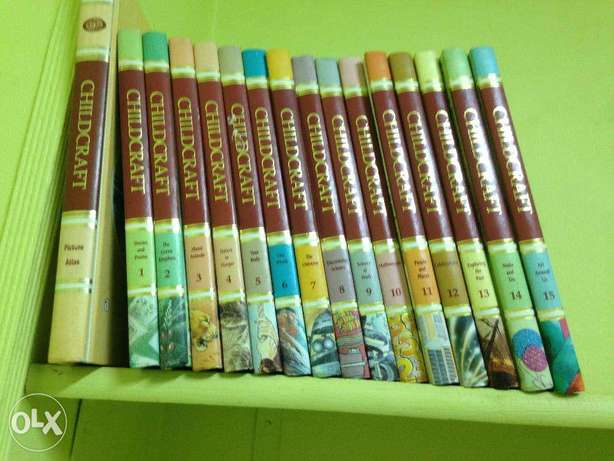 ChildCraft For Kids -15 volumes