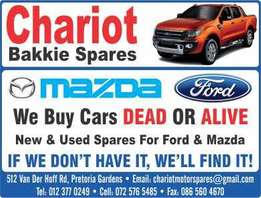 Ford and Mazda Bakkie spares
