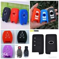 Car key protective cover