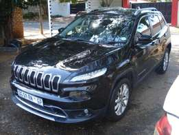 2014 Jeep Cherokee 3.2 Limited Automatic