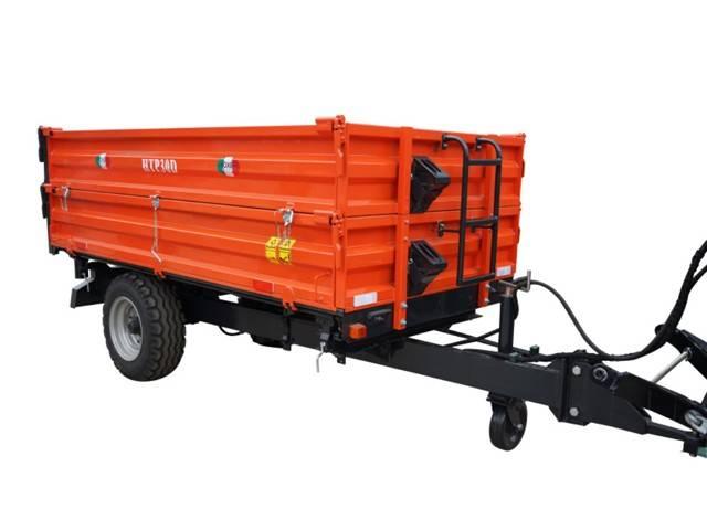 Boxer kipper / kipwagen 3 zijdig 3.5 T