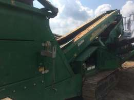 Used 2012 McCloskey S80 4.5x10 double deck screen