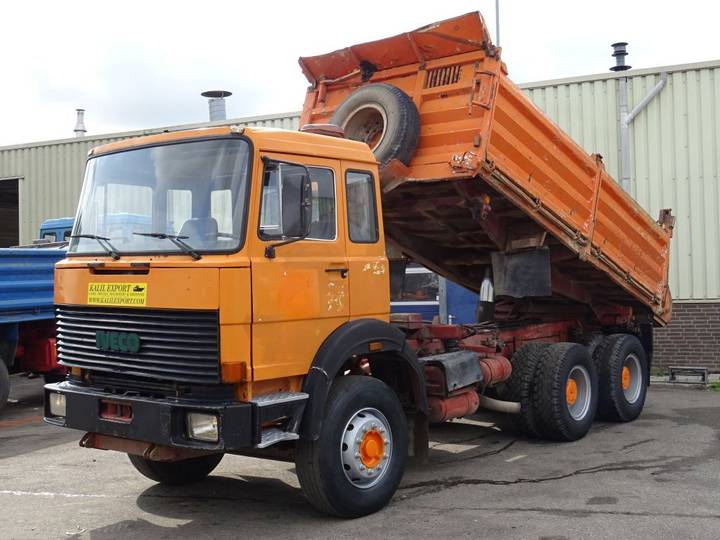 Iveco Magirus M310 D22 Kipper 6x4 V10 Good Condition - 1985