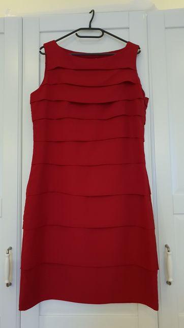 f471955e0a50af Sukienka Marks&Spencer rozm. 40 - piękne bordo - Pruszków - Witam, Mam do  sprzedania